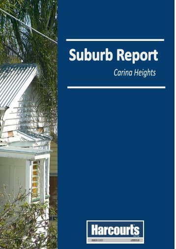 Suburb Report Cover