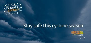 Stay safe this cyclone season