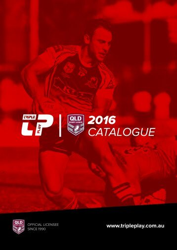 Triple Play - QRL 2016 Catalogue
