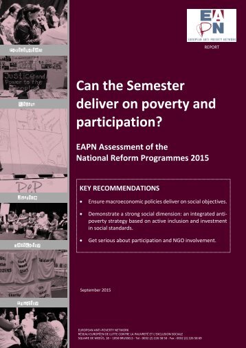 Can the Semester deliver on poverty and participation?