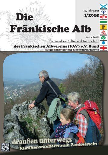 Die Fränkische Alb – 2/2015