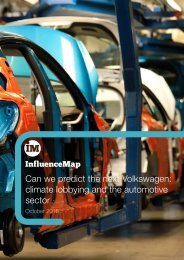 Can we predict the next Volkswagen climate lobbying and the automotive sector