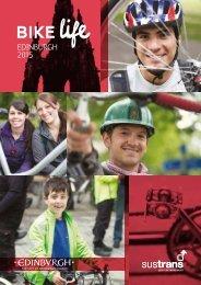 On the up - developing bike life in Edinburgh