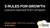5 RULES FOR GROWTH