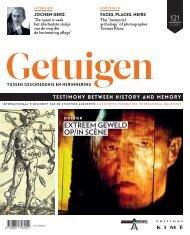 Tijdschrift: Getuigen tussen geschiedenis en herinnering - Nr. 121 (oktober 2015): Extreem geweld op/in scène / Extreme violence on stage