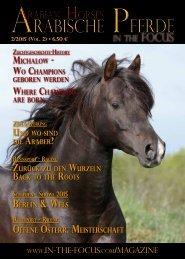 Arabische Pferde IN THE FOCUS Nr. 2/2015 (Vol. 2)