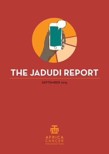 THE JADUDI REPORT