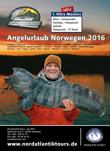 Angelurlaub Norwegen 2016
