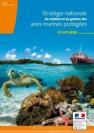 Stratégie nationale aires marines protégées