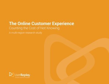 The Online Customer Experience