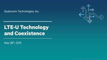 LTE-U Technology and Coexistence