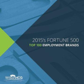 2015's FORTUNE 500