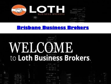 Business Broker Brisbane