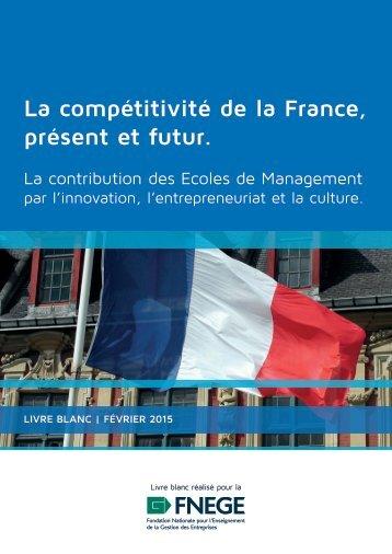 La compétitivité de la France présent et futur