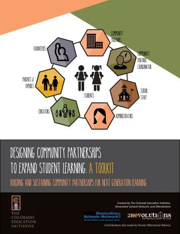 DESIGNING COMMUNITY PARTNERSHIPS TO EXPAND STUDENT LEARNING A TOOLKIT
