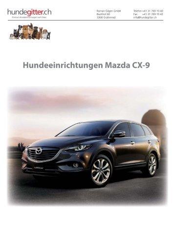 Mazda_CX-9_Hundeeinrichtungen