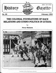 The Colonial Foundations of Race Relations and Ethno-Politics in Guyana by Percy Hintzen.