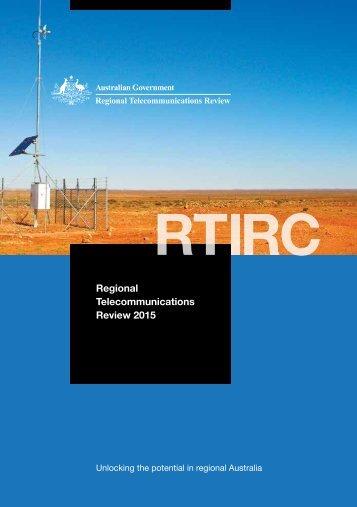 Regional Telecommunications Review 2015