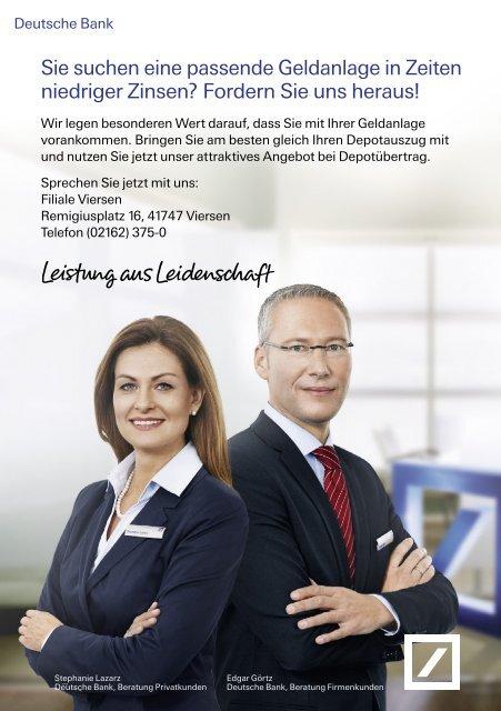 Deutsche Bank Depotübertrag