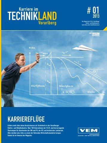 Karriere im Technikland Vorarlberg #1