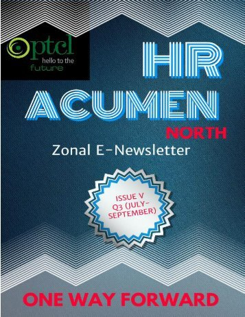 e-HR Bulletin- 'HR Acumen-North' (Issue V)