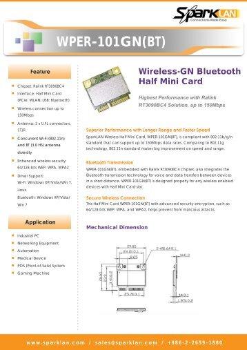 WPER-101GN(BT) - Embedded Works Corporation