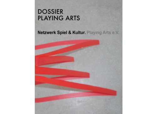 Dossier Playing Arts 2015