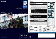 VAIO CR - Sony