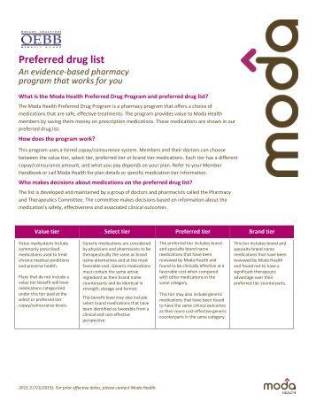 Esi preferred drug list providers amerigroup for Preferred plans