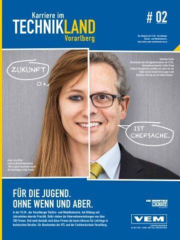 Karriere im Technikland Vorarlberg #2