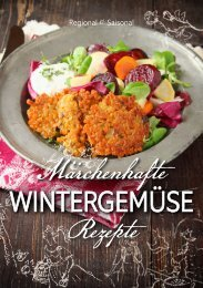 Rezeptbroschüre märchenhaftes Wintergemüse 2015