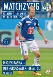 FC LUZERN Matchzytig N°6 15/16 (RSL 13)