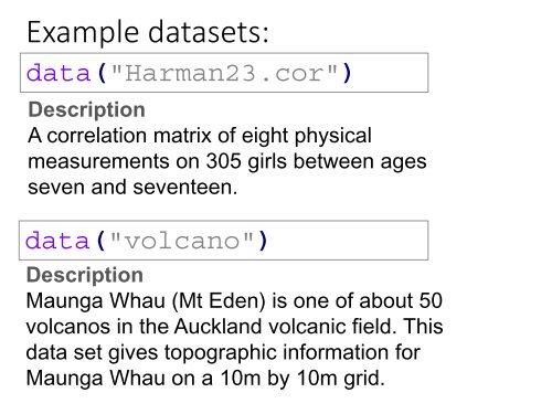 Heatmaps are: • 2D, col