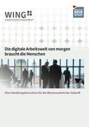 Die digitale Arbeitswelt von morgen braucht die Menschen