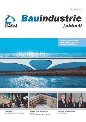 Bauindustrie aktuell 2/2010