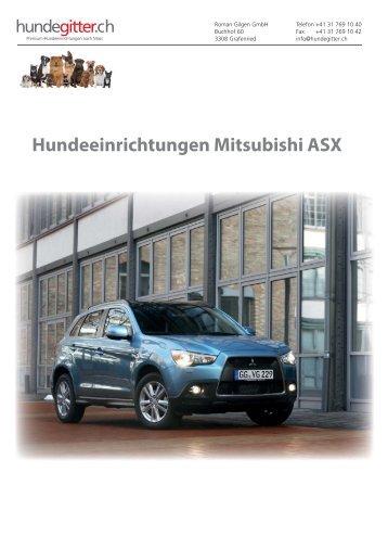 Mitsubishi_ASX_Hundeeinrichtungen