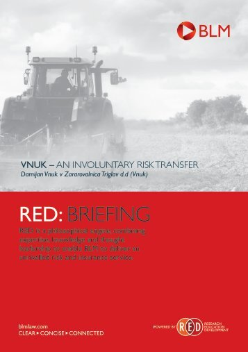RED BRIEFING