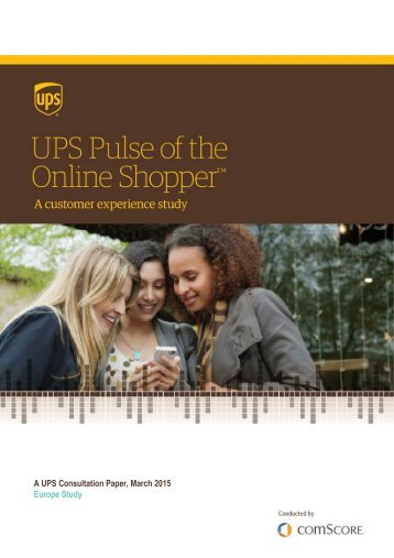 A UPS Consultation Paper March 2015 Europe Study