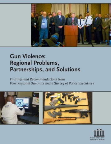 Gun Violence Regional Problems Partnerships and Solutions