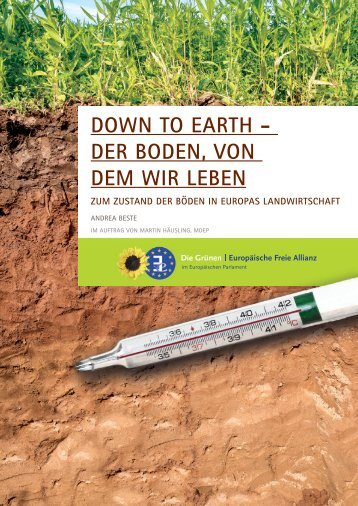DOWN TO EARTH - DER BODEN VON DEM WIR LEBEN