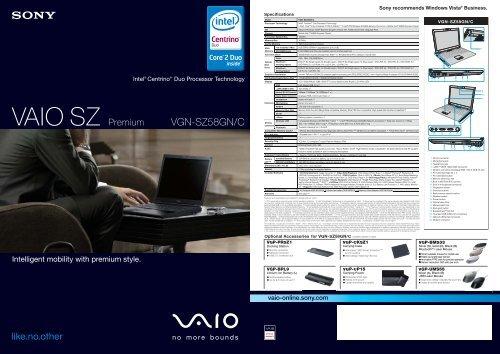 VAIO SZ Premium - Sony