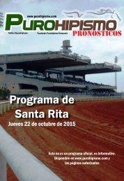 Programa de Santa Rita