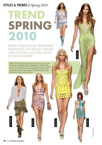 Trend Spring 2010