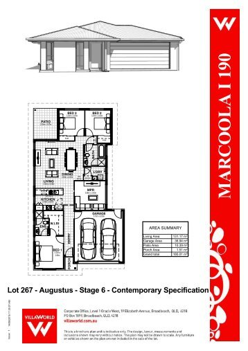 Lot 267 - Marcoola I 190 - Sales Plan