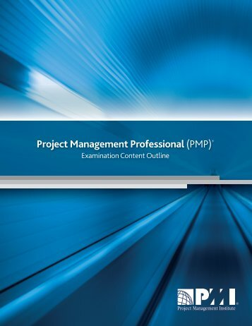 pmp-certification-exam-outline