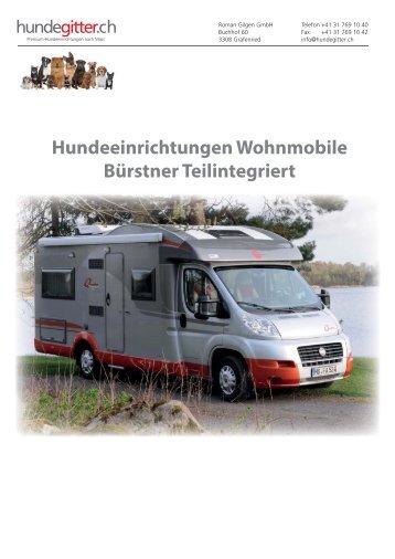 Hundeeinrichtungen_Wohnmobile_Buerstner_Teilinegriert