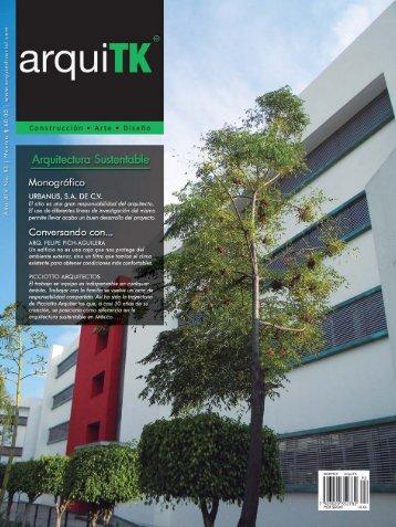 """arquiTK 92 """"Arquitectura sustentable"""""""