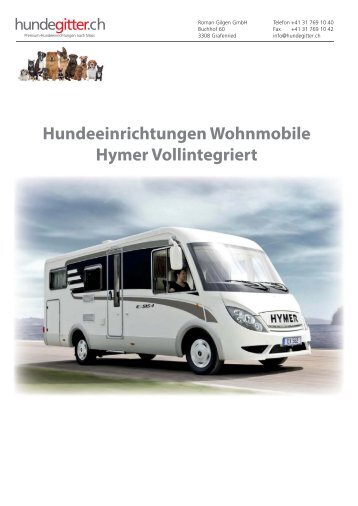 Hundeeinrichtungen_Wohnmobile_Hymer_Vollintegriert