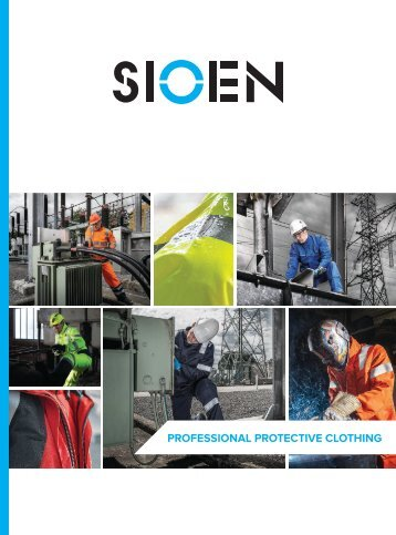 Sioen Professional Protective Clothing - 2016