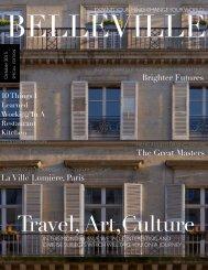 Bellevue Magazine by Brigitte Bartholomi